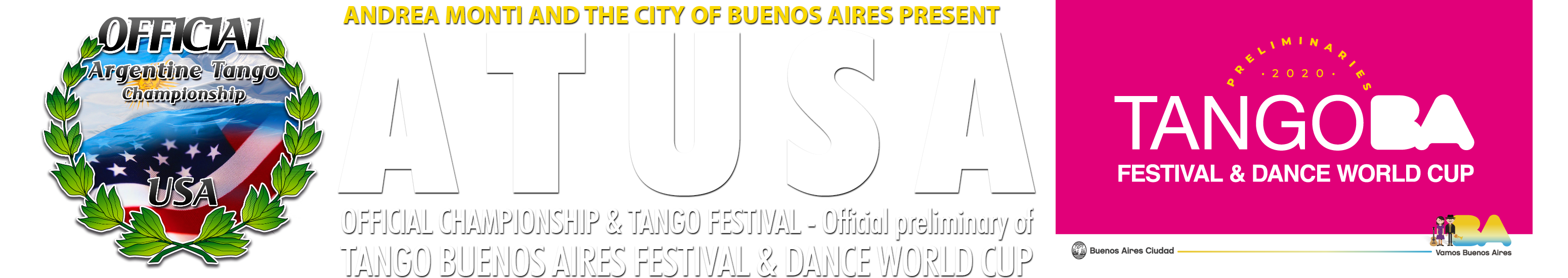 ARGENTINE TANGO U.S.A. Logo